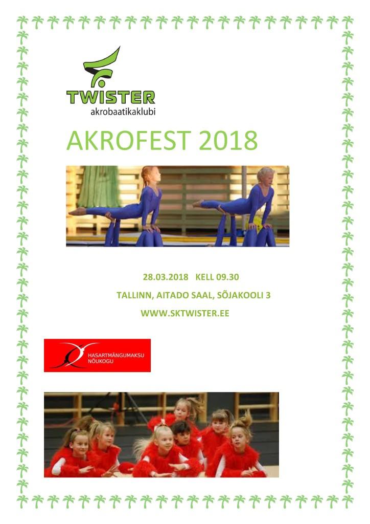 AKROFEST 2018 flaier1
